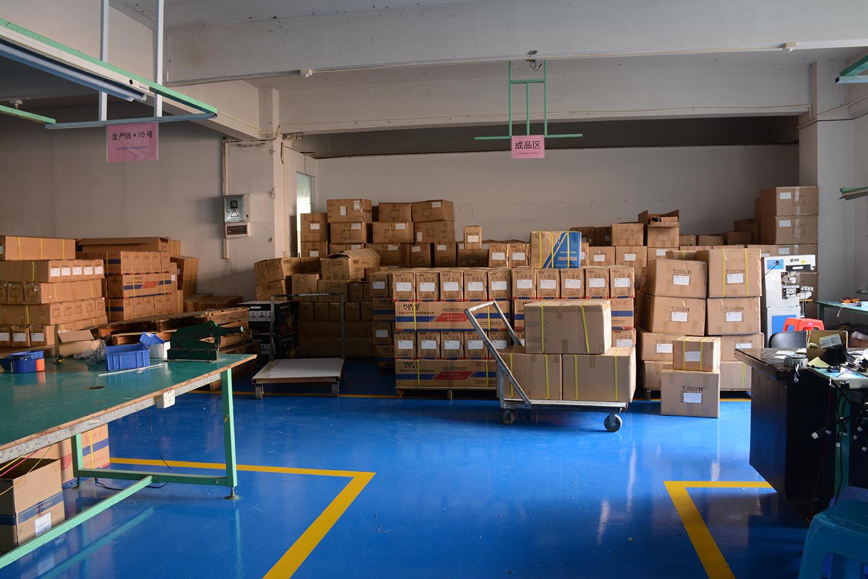 生产车间成品区