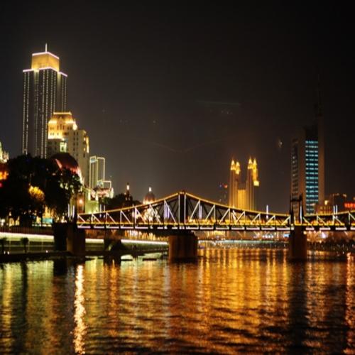 天津一河两岸