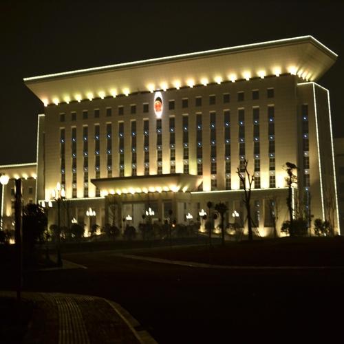 湖北松滋政府大楼